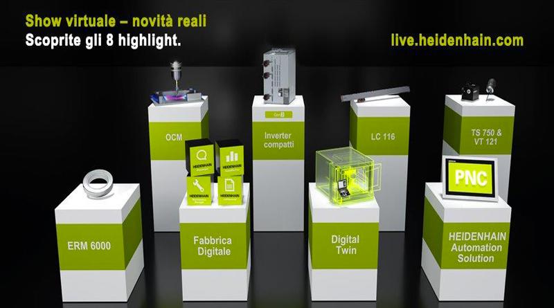 Virtual Show per macchine utensili
