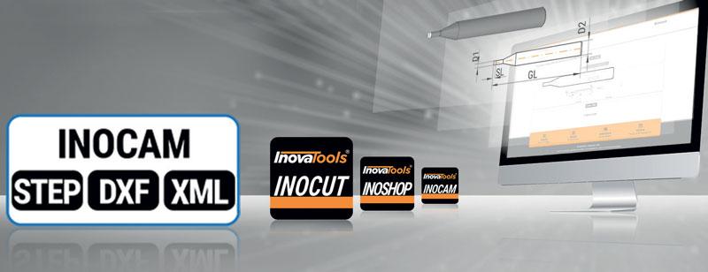 """Sul sito di Inovatools sono presenti diverse applicazioni web, Android e iOS come INOCAM (interfaccia CAM/XML) per informare velocemente e in modo completo l'utente e permettergli di trovare in pochi """"clic"""" l'utensile che cerca e i relativi dati."""
