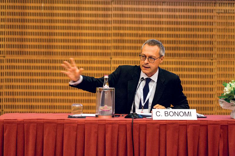 Carlo Bonomi, Presidente di Confindustria.