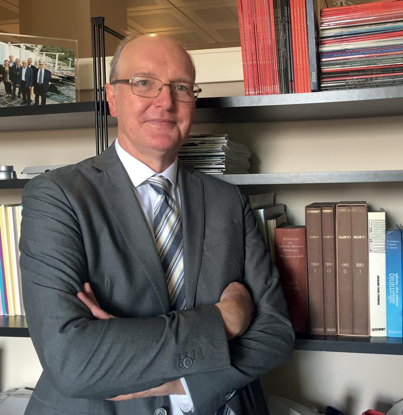 Giuseppe Colombo, CEO di Kind Special Alloys Italia.