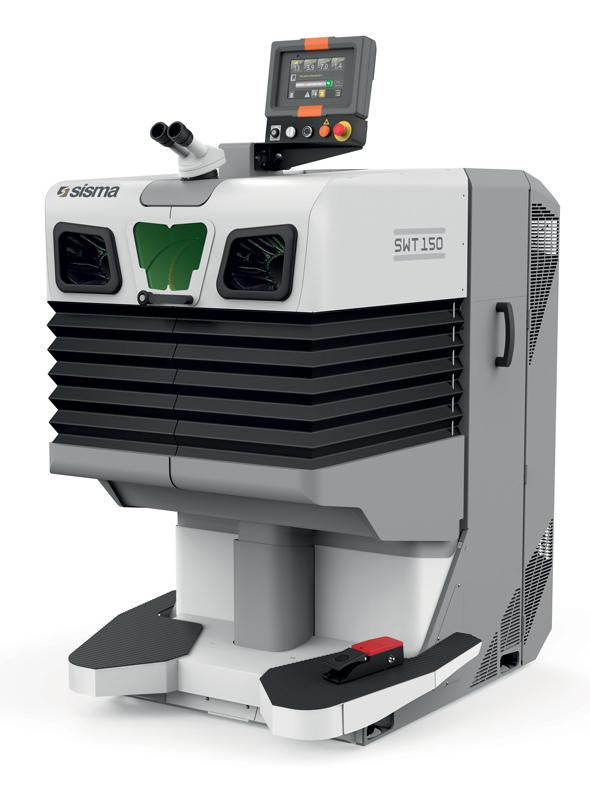 SWT, disponibile in classe I e IV, è un sistema semi-manuale di saldatura laser studiato per la riparazione di stampi di piccole/medie dimensioni.