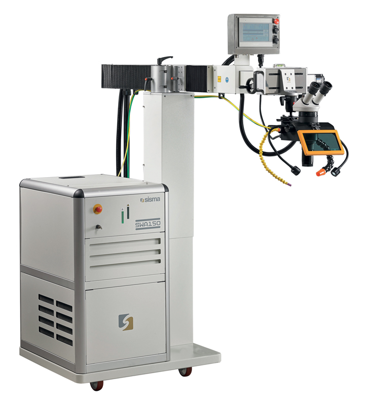 I sistemi laser per la saldatura e la riparazione di stampi SWA sono progettati da SISMA per affrontare lunghe sessioni di lavoro quotidiane senza perdere in precisione e qualità del risultato.