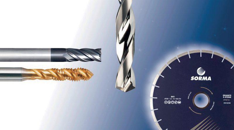 Sorma distribuisce utensili per l'asportazione truciolo rivolti all'industria meccanica e di utensili per il taglio e l'abrasione di pietra, vetro, ceramica, metallo e materiali compositi.