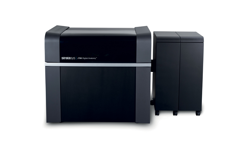 La stampante 3D J750 Digital Anatomy di Stratasys.