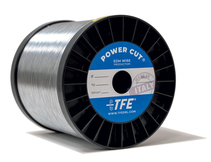 Power Cut è un filo con anima in ottone e rivestimento in zinco.
