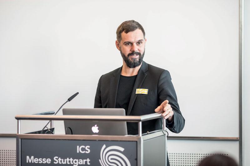 Florian Niethammer, Direttore di progetto della Moulding Expo alla Messe Stuttgart.