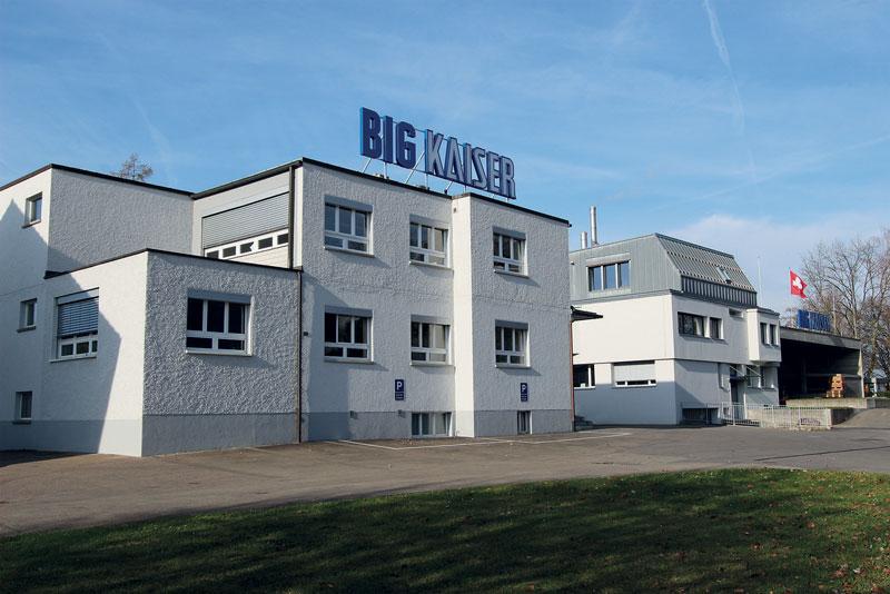 La sede centrale BIG KAISER a Ruemlang, in Svizzera.