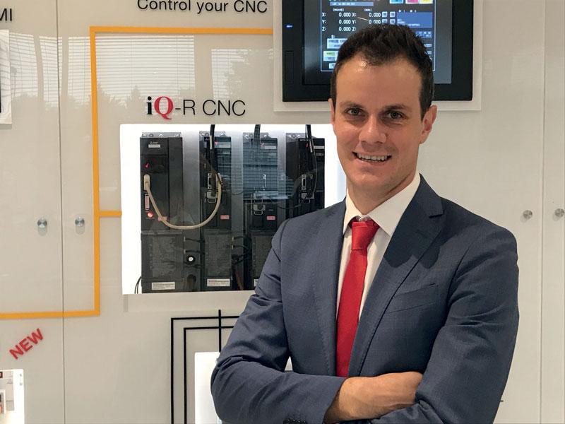 Paolo Soroldoni, Mechatronics CNC Manager della filiale italiana di Mitsubishi Electric.