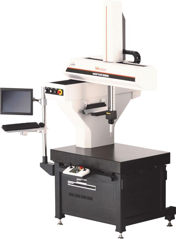 MiSTAR 555 CMM è una macchina di misura a coordinate progettata da Mitutoyo per l'utilizzo in officine di qualunque dimensione.