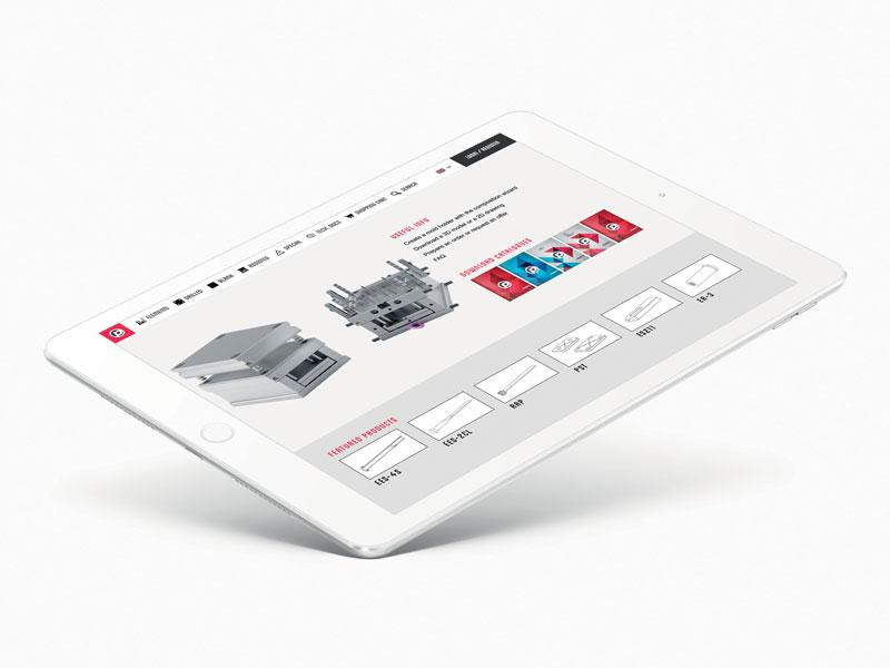 L'e-commerce Pedrotti, denominato configuratore, permette di verificare i prezzi, ordinare il materiale o scaricare i modelli tridimensionali dei prodotti dell'azienda bresciana.