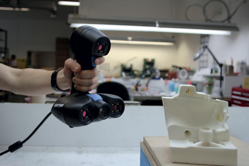 Creaform ha aggiunto lo scanner 3D ACADEMIA 20 alla propria suite di soluzioni per la didattica ACADEMIA.