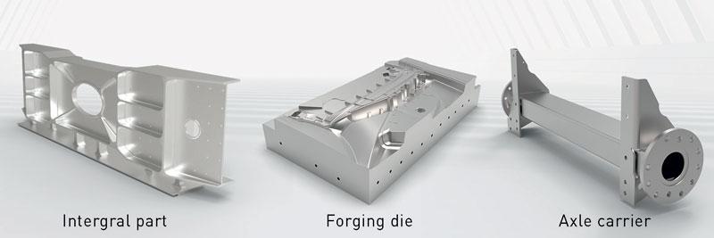 Una tavola lunga 3.300 mm offre agli utenti la massima flessibilità, anche durante la lavorazione di pezzi lunghi.