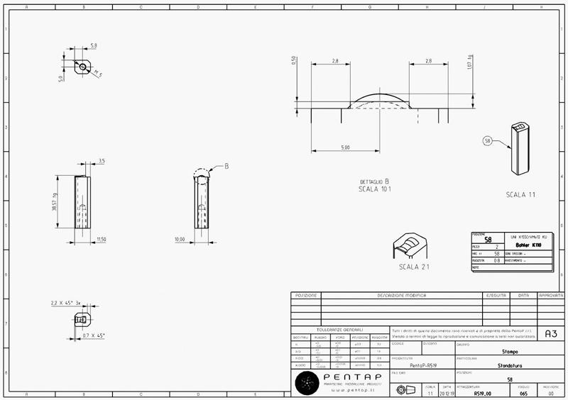 Sistema di quotatura tradizionale vs Sistema MBD. Le richieste di utilizzare le tavole 2D e il relativo supporto cartaceo stanno progressivamente diminuendo.