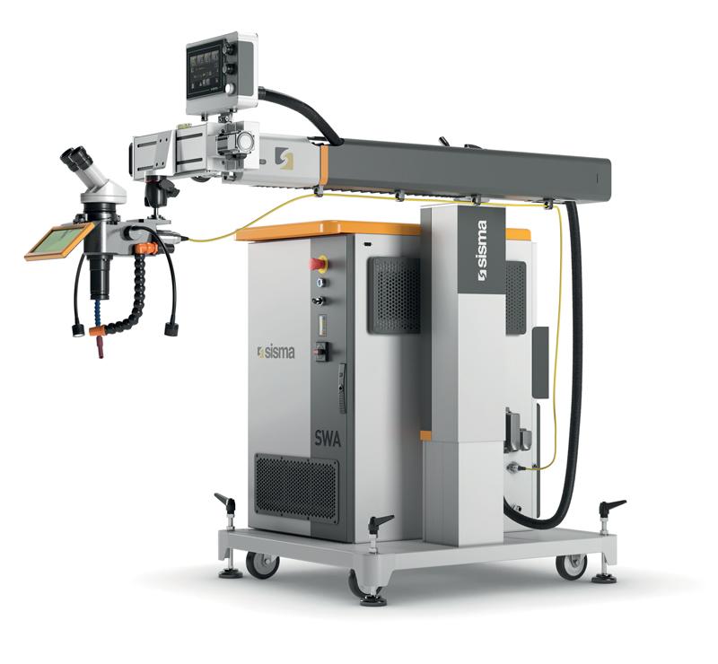 SWA è stato appositamente progettato per realizzare gli interventi di modifica e riparazione degli stampi danneggiati da usura o impiego.