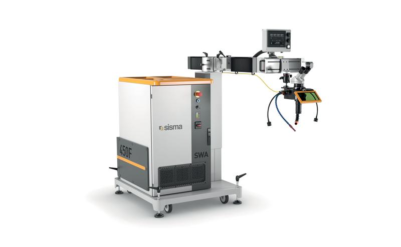Maggiore efficienza nella saldatura laser e riparazione stampi