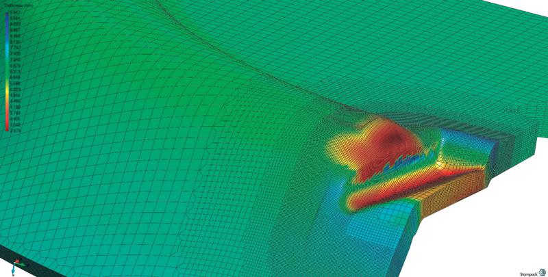 Avvalendosi delle potenzialità dell'ambiente VISI, STAMPACK si dispone come strumento semplice e veloce per la definizione completa del processo di simulazione.