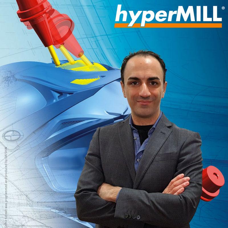 Marco Sangiovanni, Referente Tecnico per l'automazione CAD/CAM di OPEN MIND Technologies Italia.