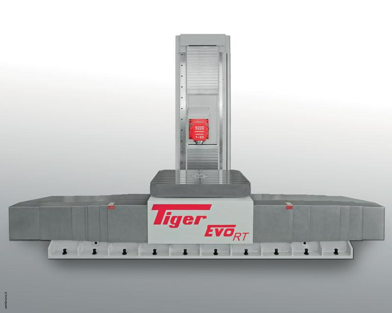 I centri EVO-RT sono macchine versatili e complete per affrontare e risolvere sia i problemi legati alla sgrossatura sia alla finitura di pezzi di medie dimensioni.