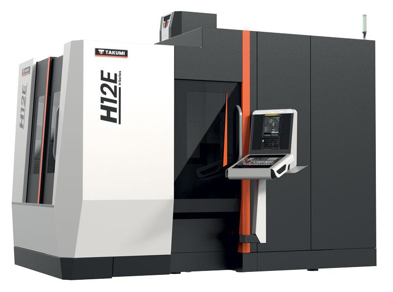 Il centro di lavoro a portale H12E garantisce elevate finiture superficiali e precisione accurata.