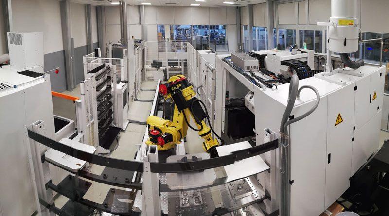 Isola di lavoro robotizzata