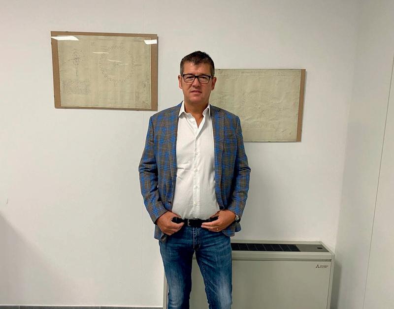 Tiziano Roscia, titolare di RS Stampi.