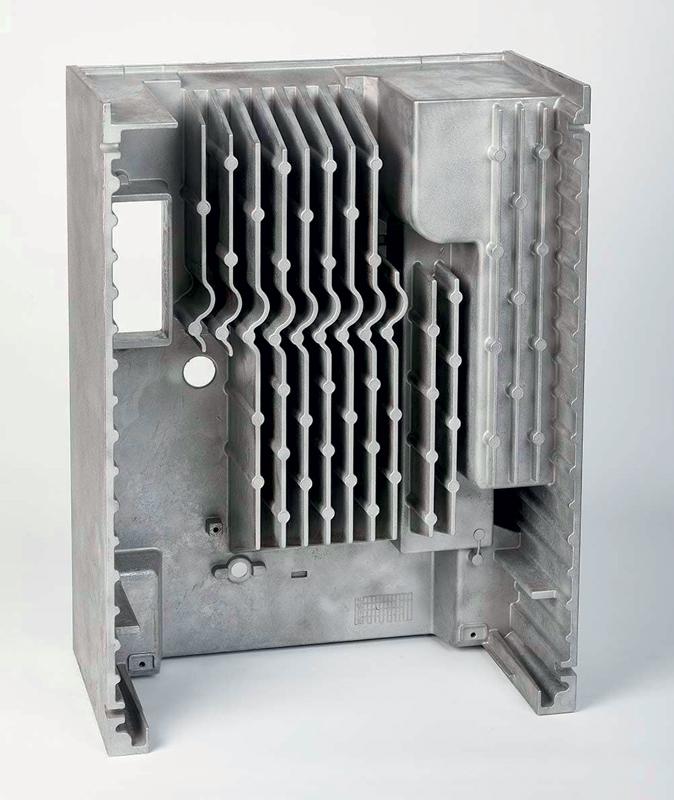 Scambiatore di calore per motore elettrico.