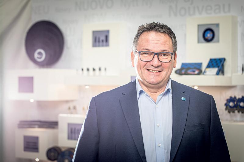 Ralf Heimann, Product Manager per gli utensili per finitura e lucidatura presso PFERD.
