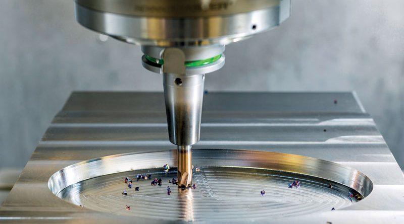 Fresa ad alto avanzamento OptiMill-3D-HF per lavorazioni ad alta velocità.