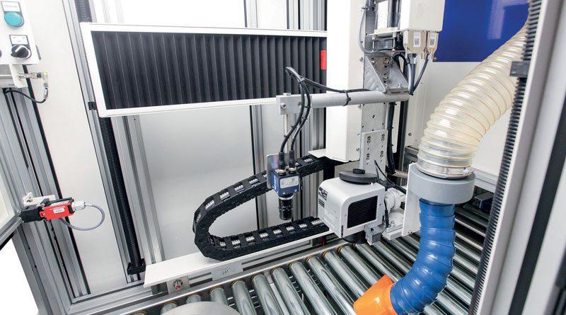 Il Data Matrix sui dischi freno è marcato al laser