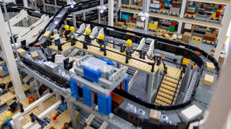 L'impianto riprodotto con i LEGO®
