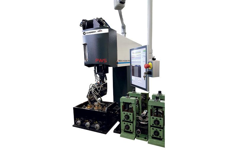 Sistema di saldatura Coherent|ROFIN Profile Welding System in configurazione per laser CO2.