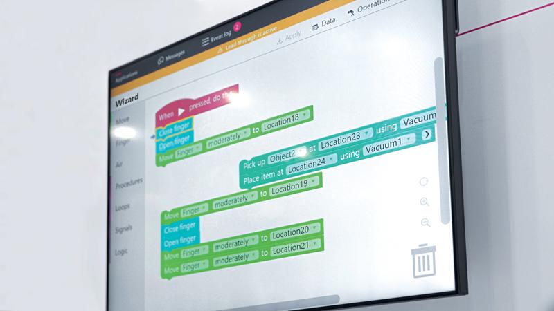 Wizard Easy Programming è un metodo di programmazione grafica facilitata.