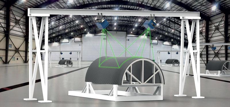 La profondità di campo è pari all'intera gamma di proiezione e non ci sono limitazioni di illuminazione poiché è illuminata dal laser.