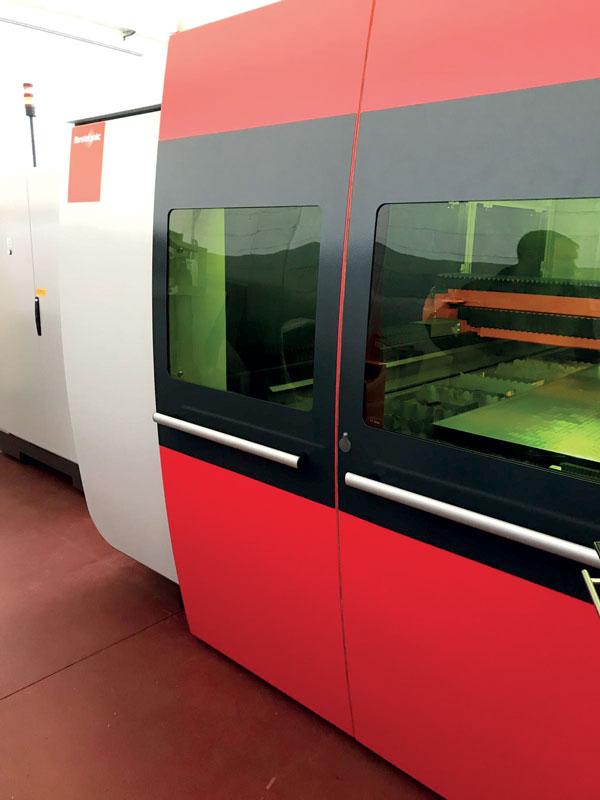 LaserTech Service si è specializzata nel revamping di sistemi per il taglio laser soprattutto di Bystronic.
