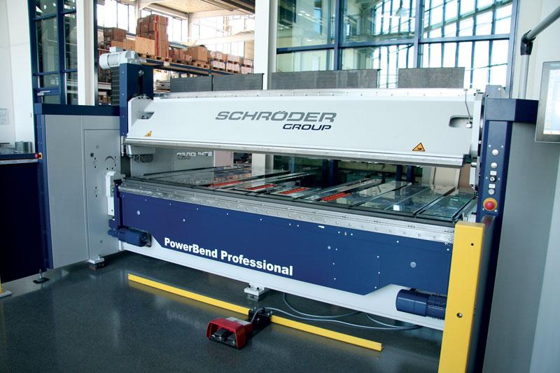 Pannellopiegatrice Schröder PBP 3200/3.