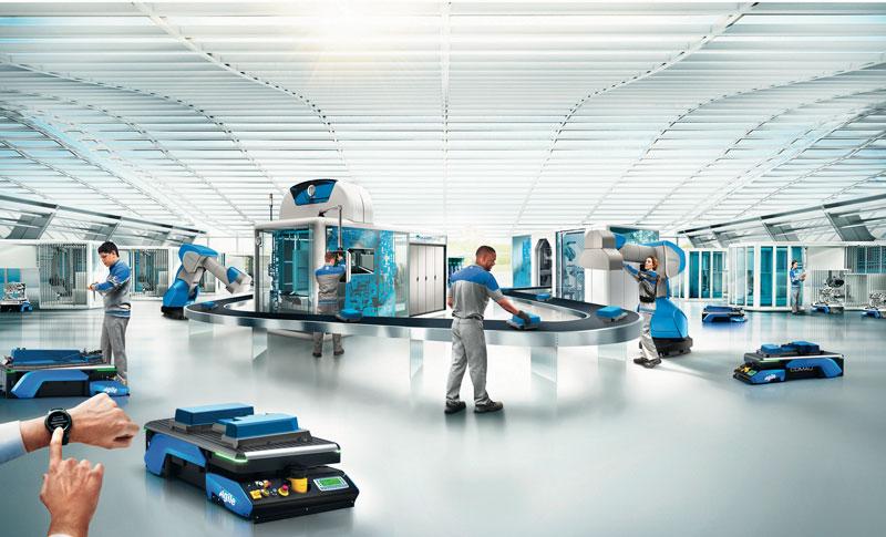 La robotica mobile è in effetti trasversale a vari settori industriali, potenzialmente applicabile anche in ambito professionale e domestico, ed è sicuramente una tecnologia abilitante basata sulla flessibilità e sulla collaborazione con l'uomo.