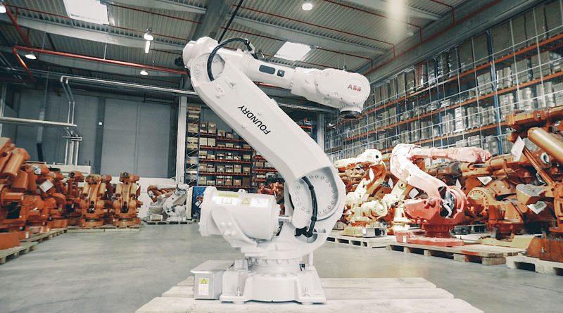 Produzione più sostenibile grazie al riciclo di robot usati