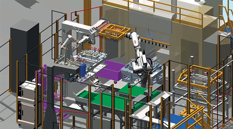 RobotStudio è il software di simulazione e programmazione offline di ABB che offre una replica digitale completa di asset fisici o sistemi in modo da poter vedere da remoto che cosa succede su una linea di produzione.