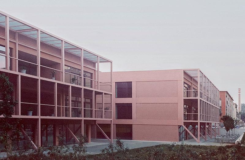 La Scuola Enrico Fermi di Torino al termine della trasformazione.