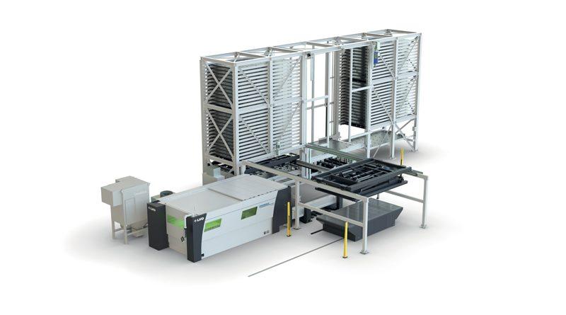 LVD presenta MOVit, una gamma completa di sistemi di automazione, che comprende le nuove opzioni TAS e WAS per le macchine di taglio laser Phoenix ed Electra di LVD.
