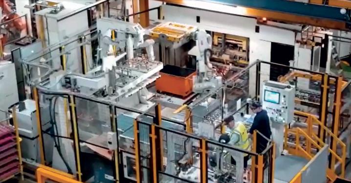 RobotStudio consente di generare un'analisi dettagliata e veritiera del tempo ciclo dell'impianto.