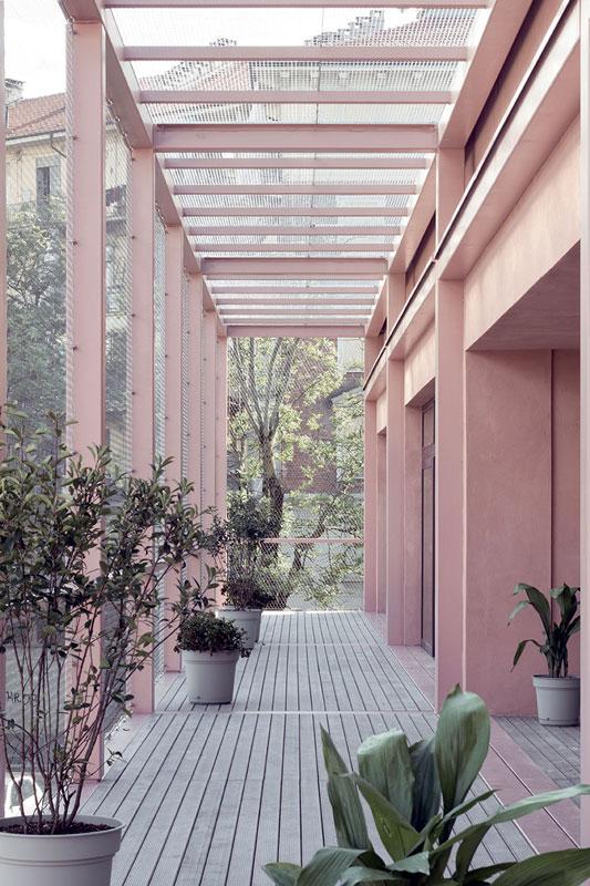 Le strutture di nuova realizzazione sono state interamente realizzate in carpenteria metallica.
