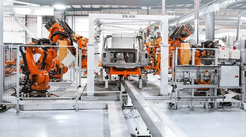 185 robot per l'automotive coreano
