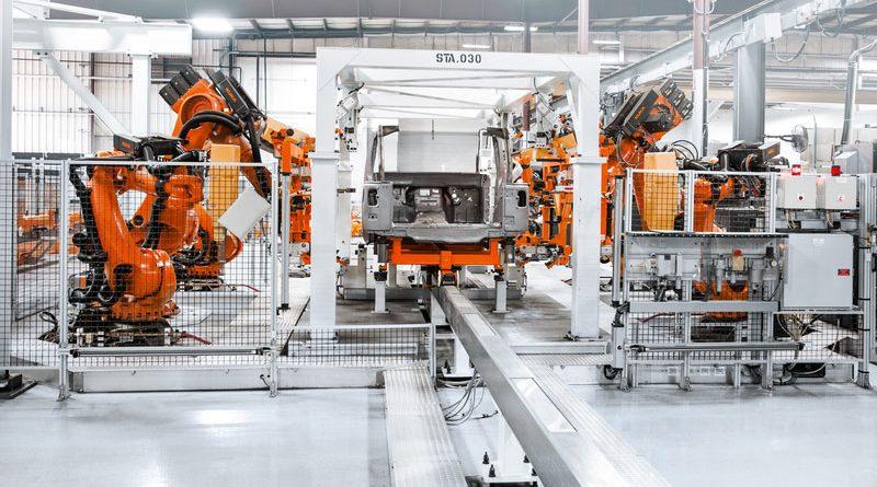 185 robot per l'automotive coreano