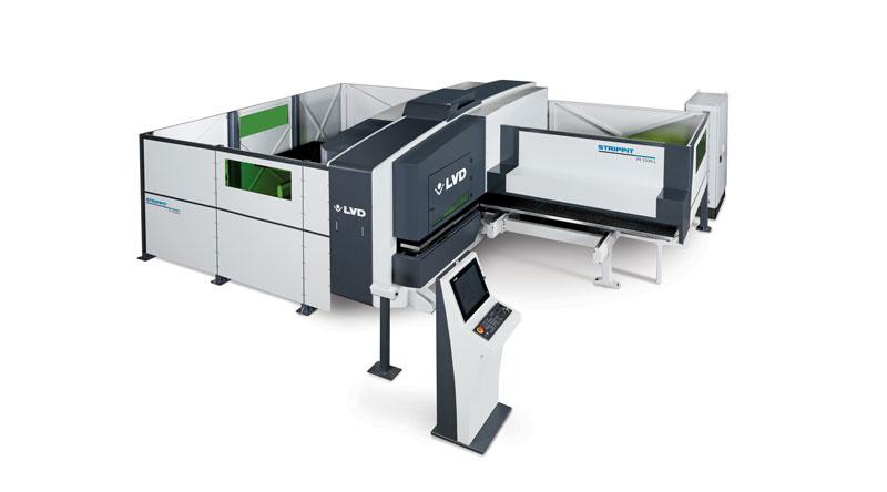 Una nuova punzonatrice-laser combinata