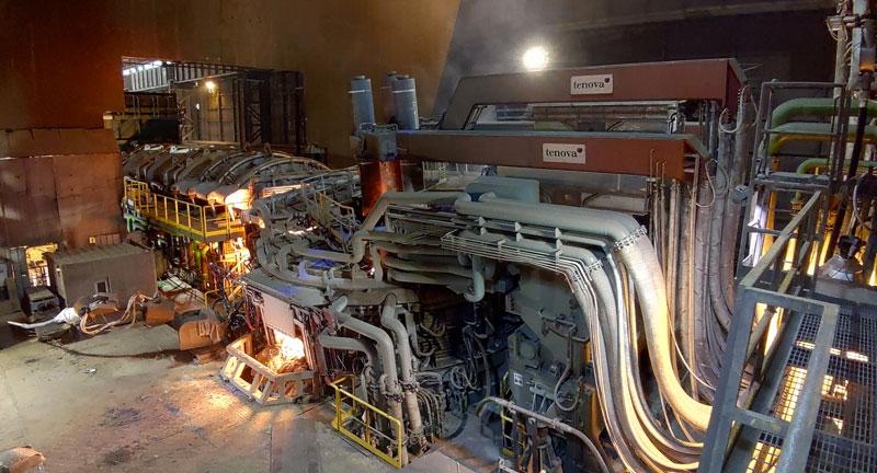 È il forno elettrico ad arco più produttivo della storia