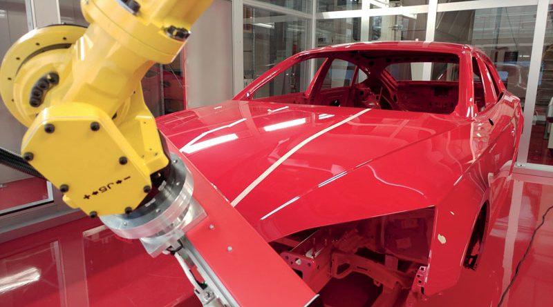 Scanner robotico per il controllo delle finiture superficiali