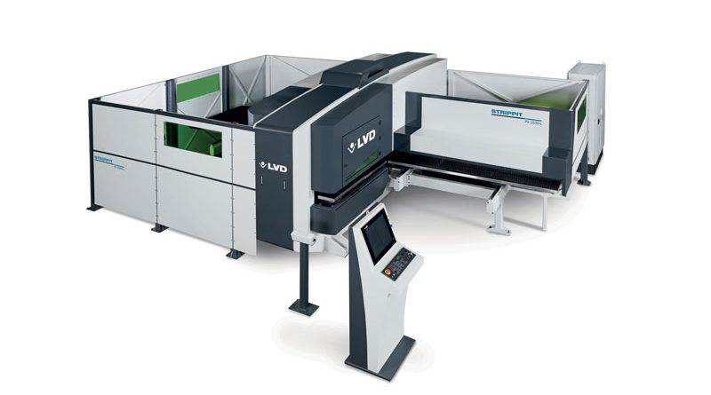 Strippit PL offre due tecnologie in una sola macchina per una maggiore versatilità rispetto alle apparecchiature a processo singolo.