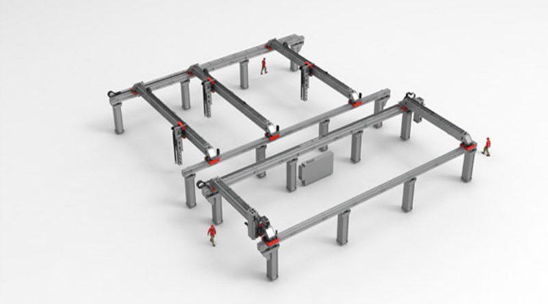 Ecco i robot cartesiani per carichi pesanti e voluminosi