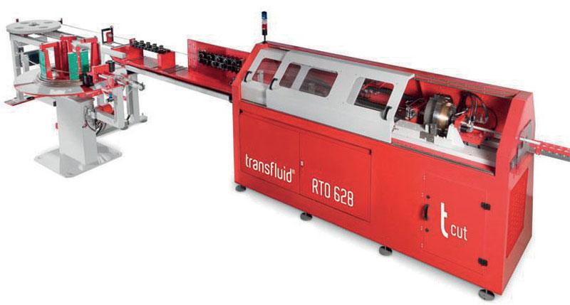 La transfluid RTO 628 usa lame durevoli per ottenere tagli ottimali.